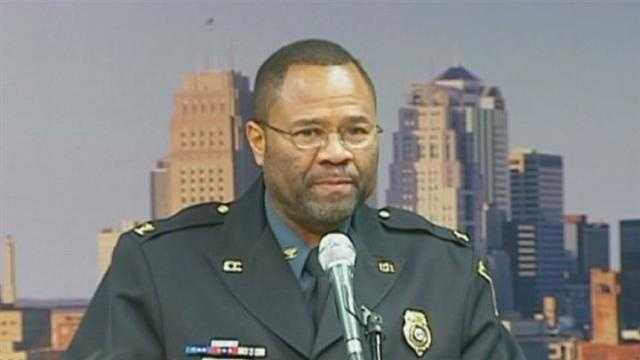 Kansas City Police Chief Daryl Forte