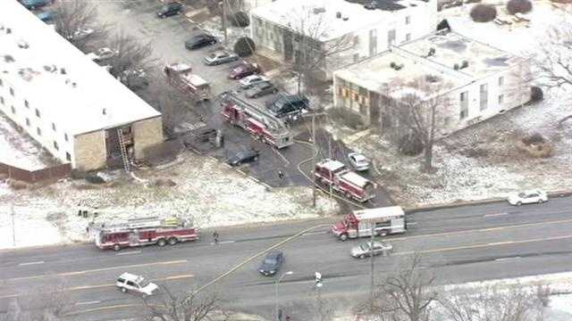 At least 3 ambulances were called to the scene.