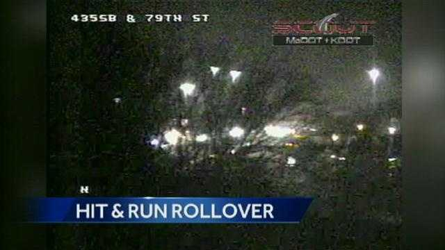 I-435, Midland hit-and-run