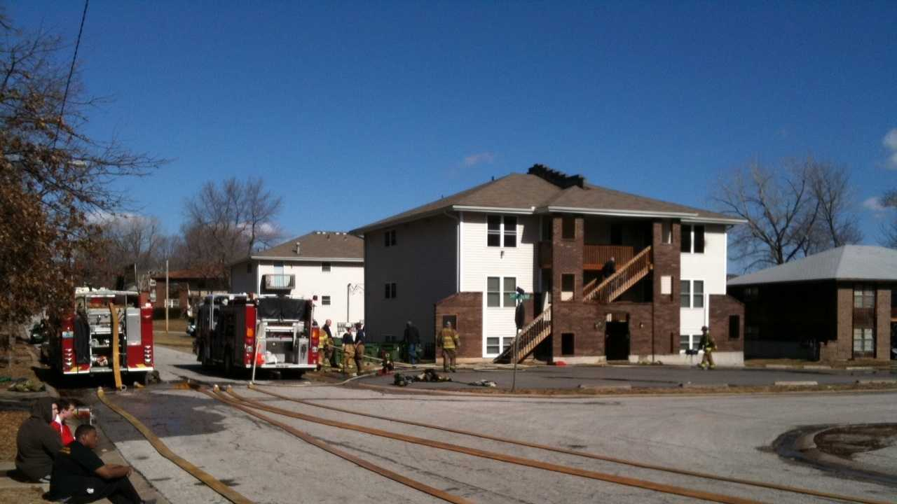 Image Raytown apartment fire