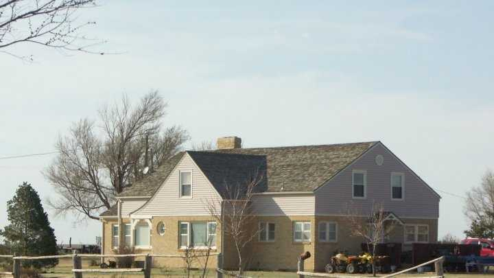 The home in southwest Kansas where four members of the Clutter family were killed in 1959.