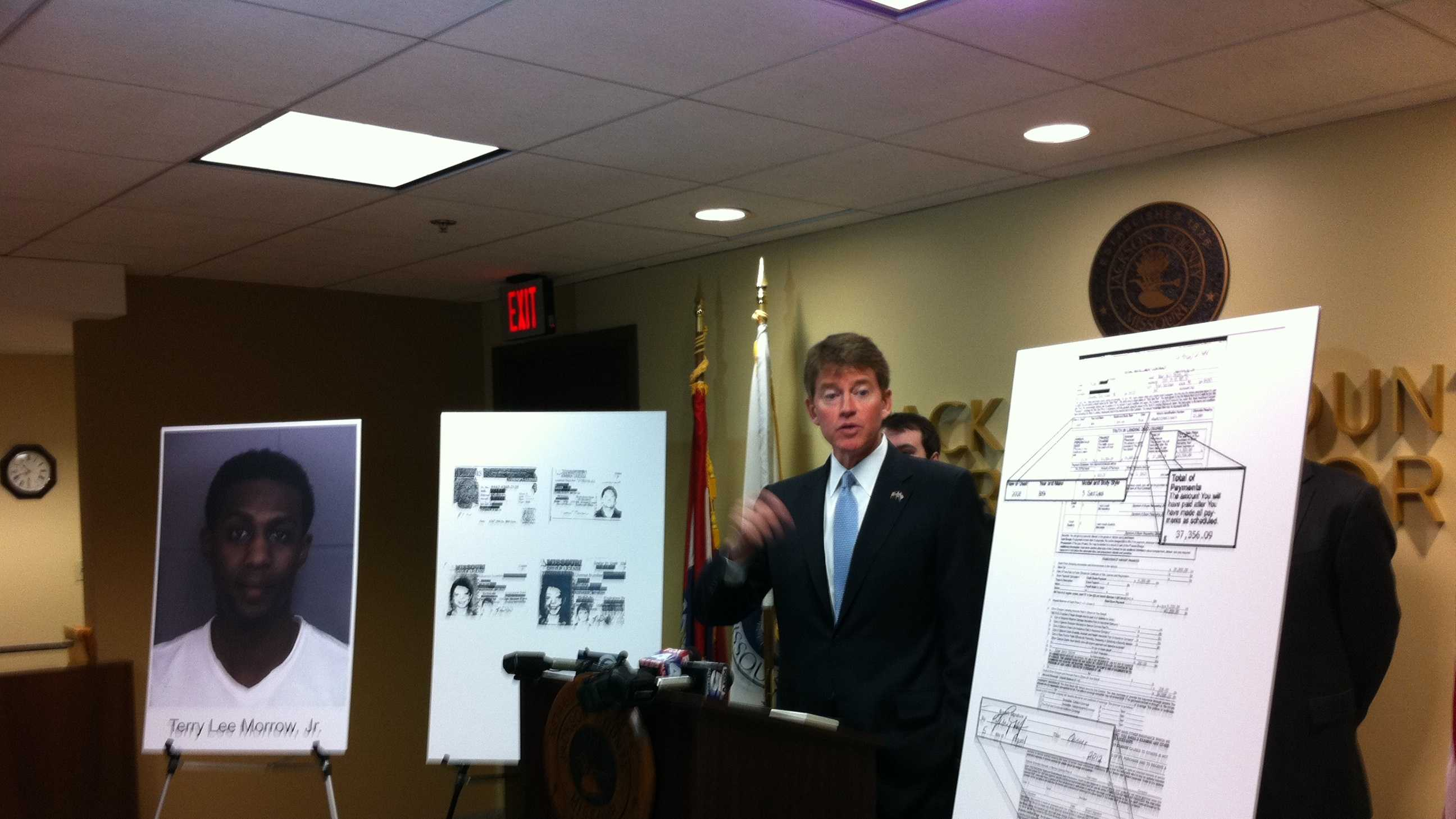 Chris Koster news conference