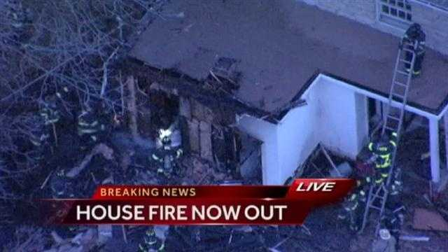 Fire damages home in old northeast KC