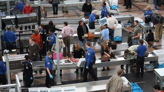TSA, airport security