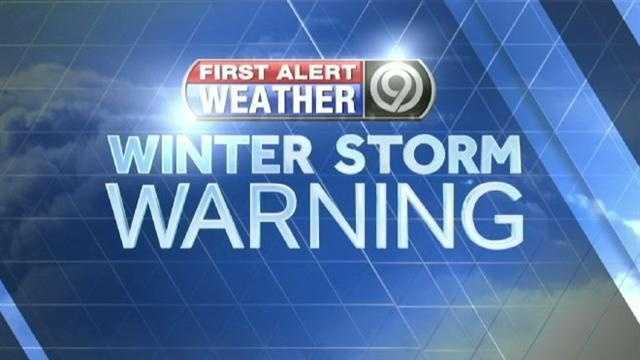 KMBC FirstAlert Winter Storm Warning