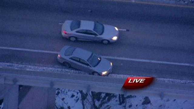 Accident on 71 Highway at the Blue River