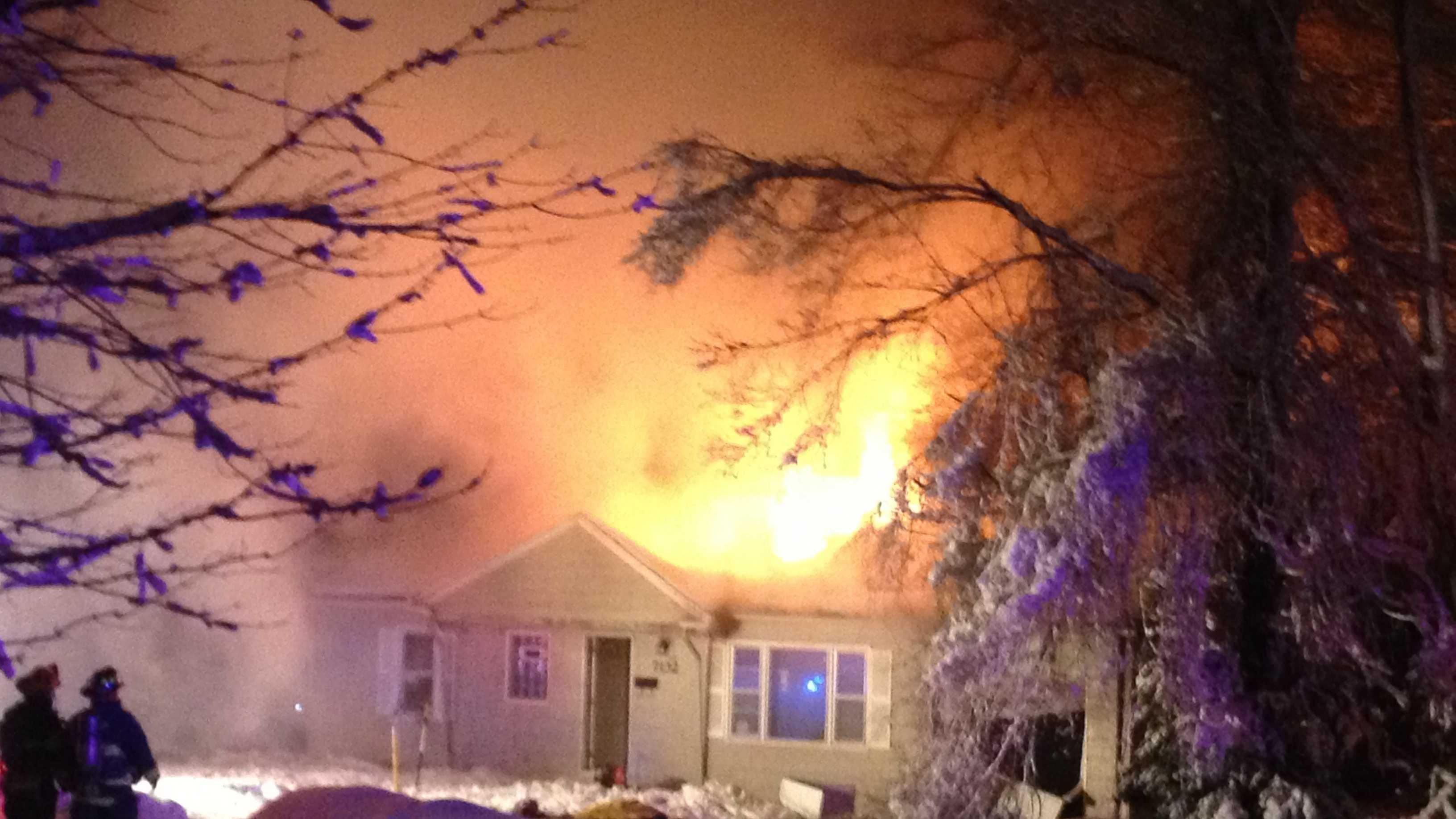 Image Overland Park fire - Dearborn St.