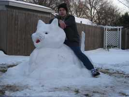 Do you want to show off your arctic artistry? Upload your photos to u local on KMBC.com by clicking here.