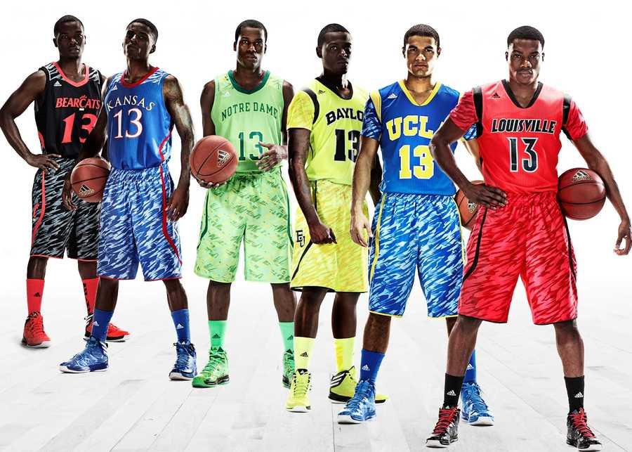 Adidas said six teams will wear the new uniforms.