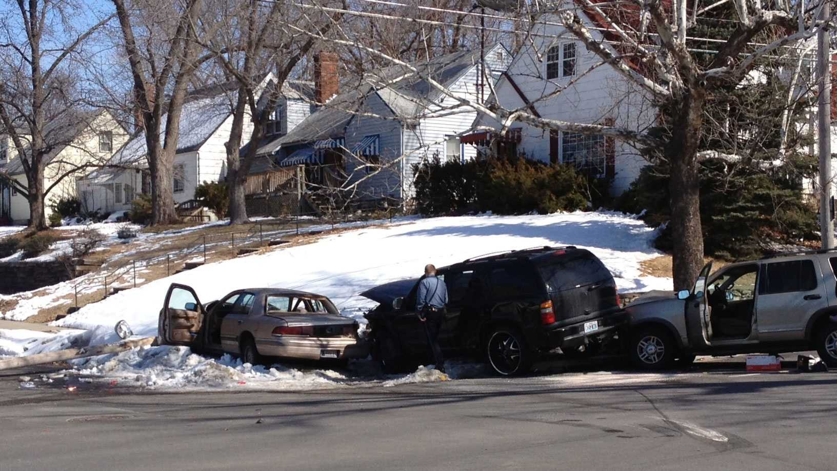 63rd Street, U.S. 71 accident