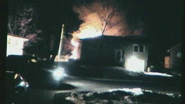Edgerton house fire