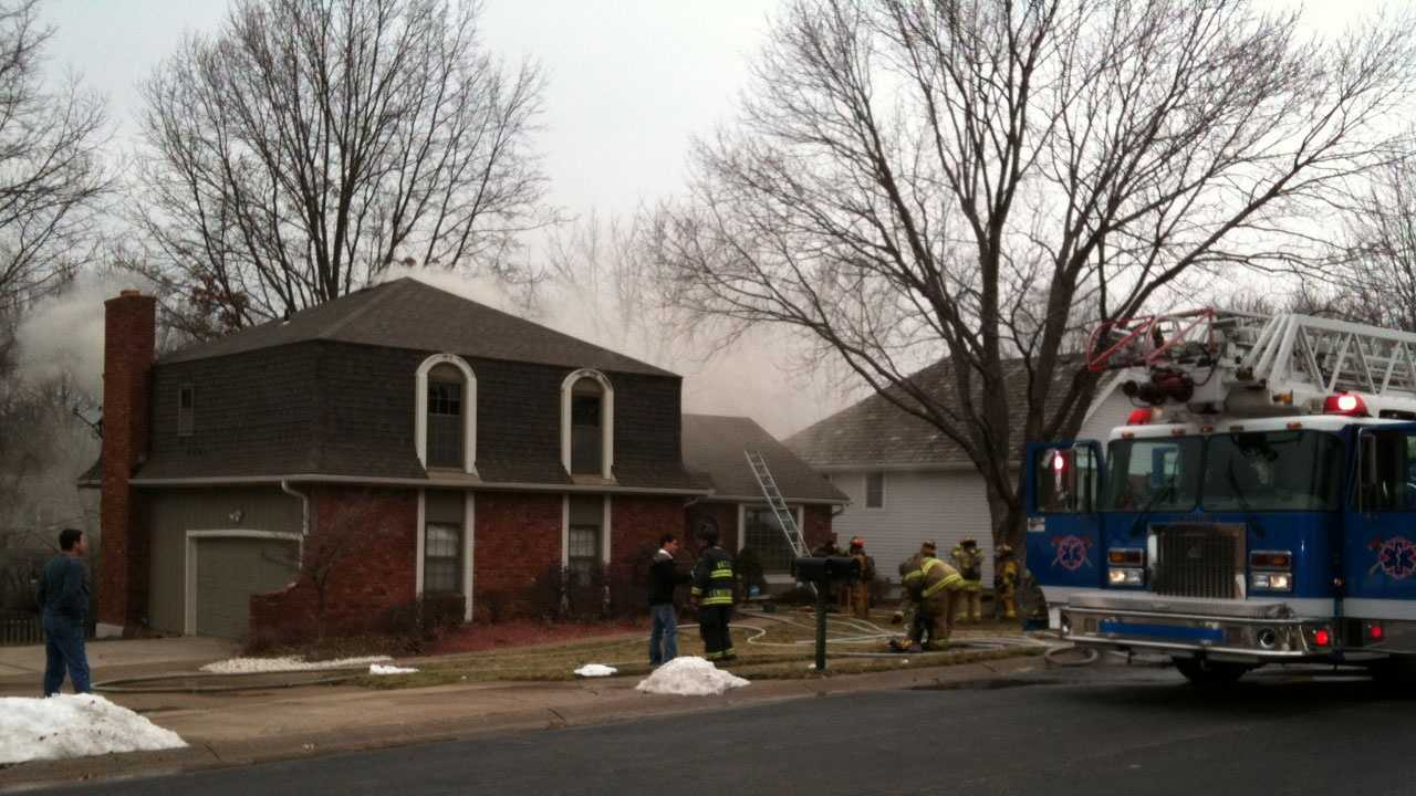 Gladstone house fire