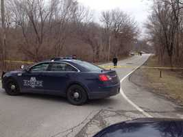 A woman's body was found near Raytown Road and Eastern Avenue on Monday morning.