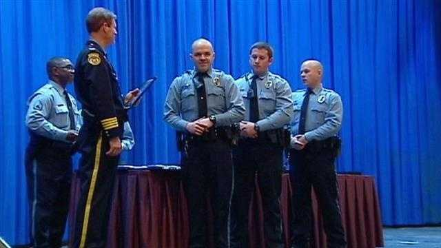 KCK officers honored for saving boy, 3, from being drowned