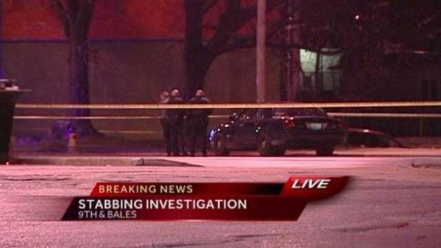 Stabbing Ninth Street, Bales Avenue