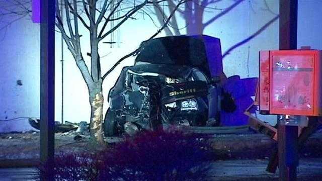 Jackson County sheriff's car stolen