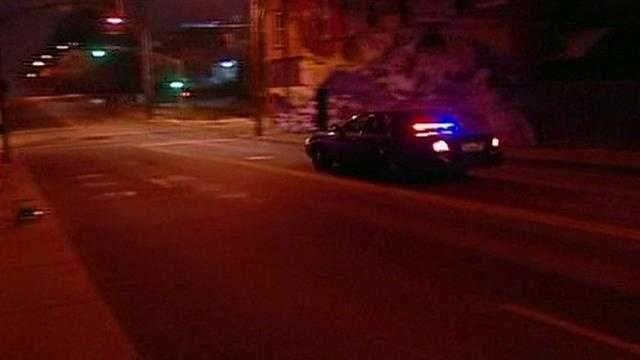 Police standoff East 27th Terrace