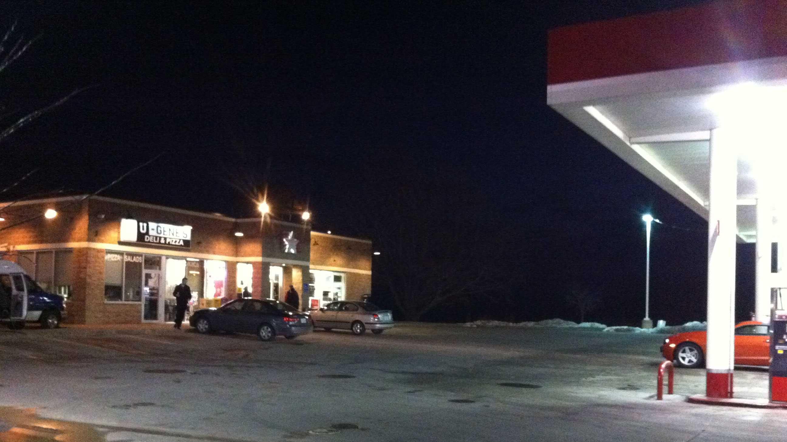 Gas station where eyes found