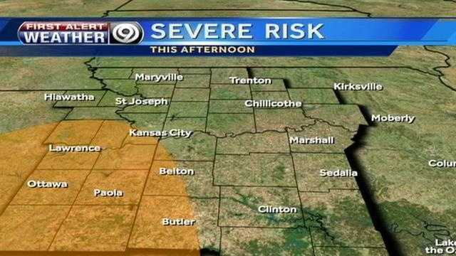 Severe wx risk