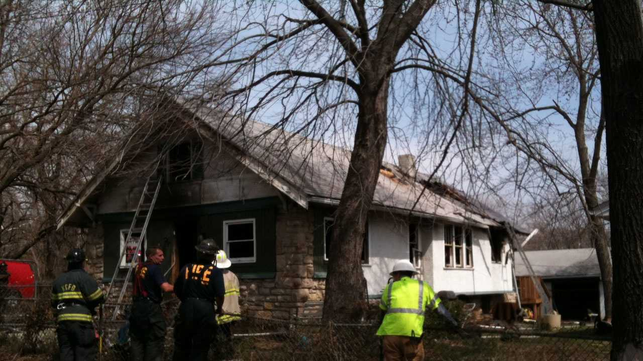 82nd, Lydia house fire, hole in roof