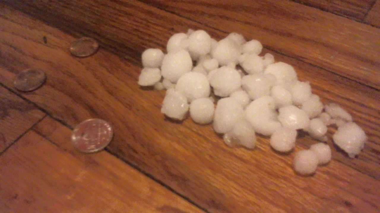 Hail in Raytown from Addison Sherwood