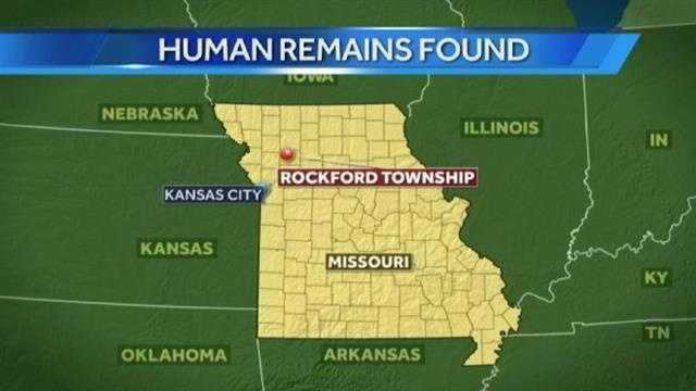 Remains found map