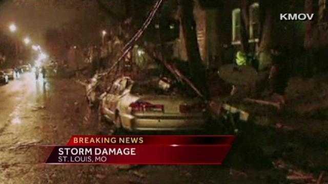 Image St. Louis storm damage