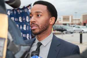 """Andre Holland, who plays Wendell Smith in """"42"""""""