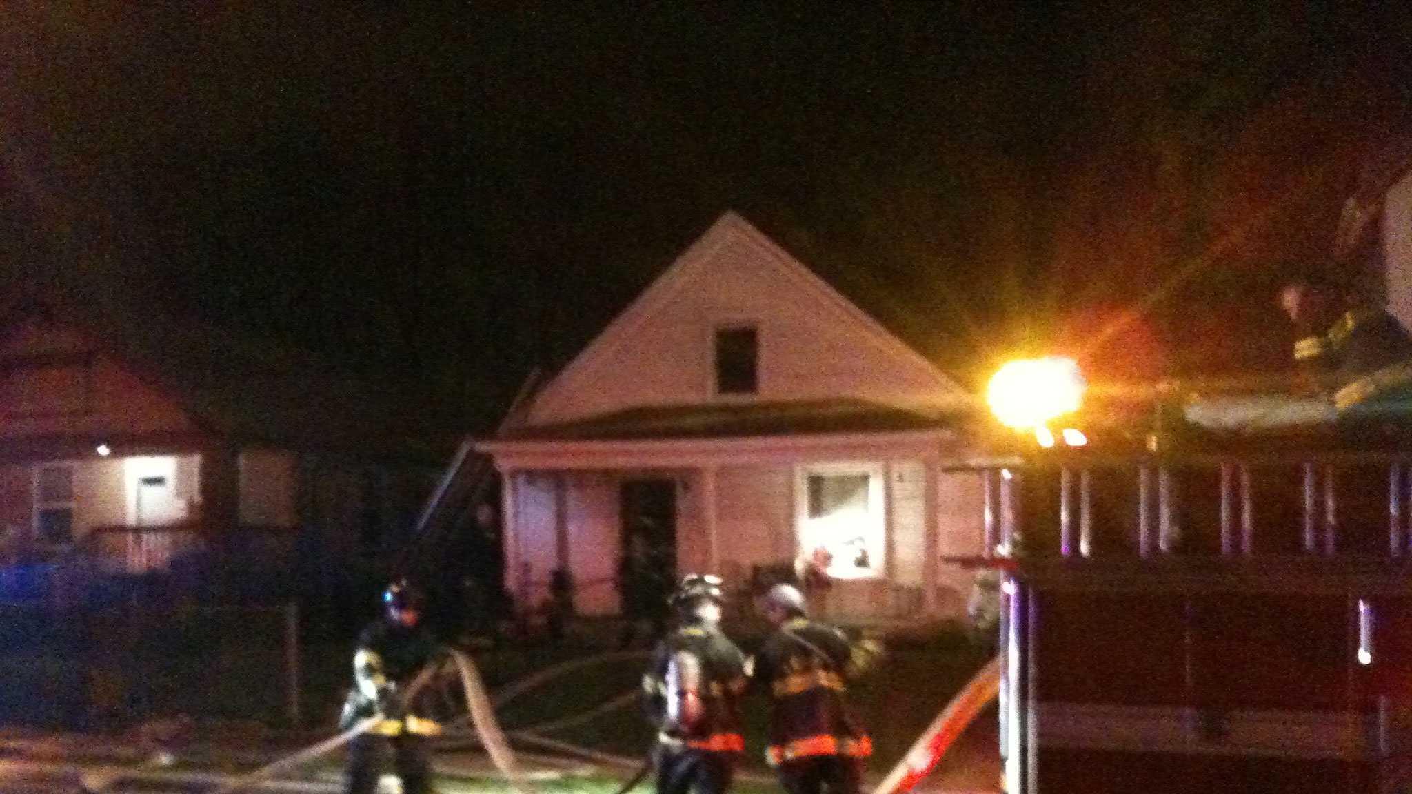 Mersington house fire