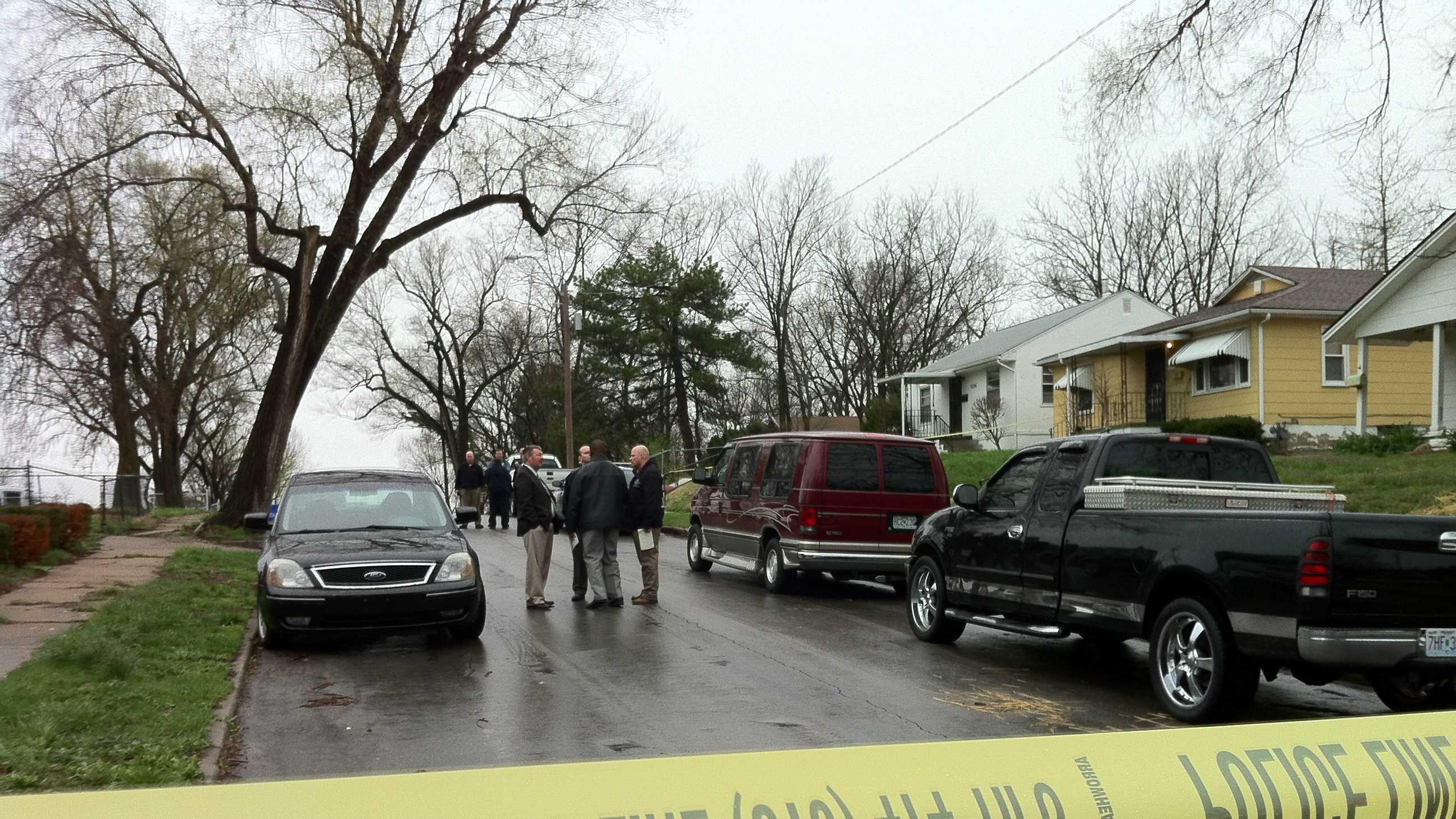 Homicide scene, 43rd and Norton