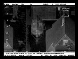 Massachusetts State Police released pictures of the boat where the second Boston bombing suspect was hiding.