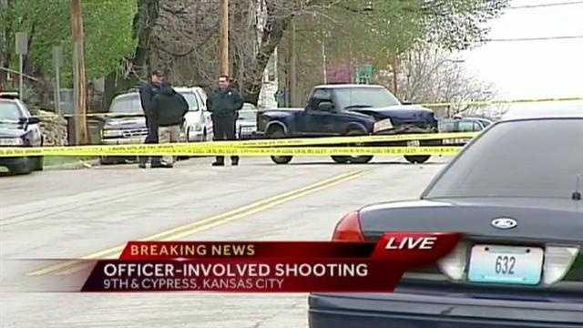 Image Officer-involved shooting scene