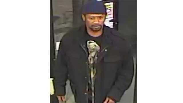 Lenexa police said they want to question this man in connection with incidents at two Lenexa convenience stores.