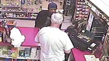 Police said he also told the clerk that he had a gun but he never showed one.