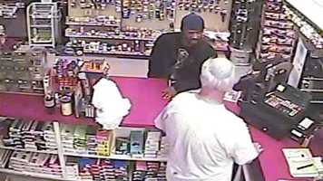 Police said the clerk told the man he was going to call the police and the man left the store empty-handed.