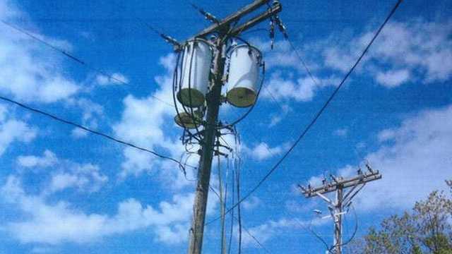 Image Power line dangling
