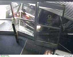 A smash-and-grab at a Northland Best Buy store at about 2 a.m. Friday netted thieves an estimated $30,000 worth of electronics. These are images from a store security camera. If you know anything about the crime, call the TIPS hotline at 816-474-TIPS.