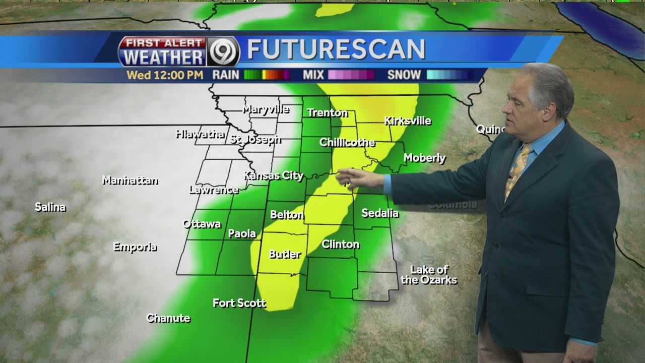 Temps back in the 70s but rain chances return