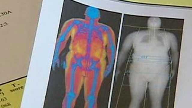 Image Body scanning machine
