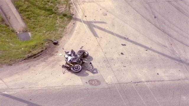 Vivion Road motorcycle accident