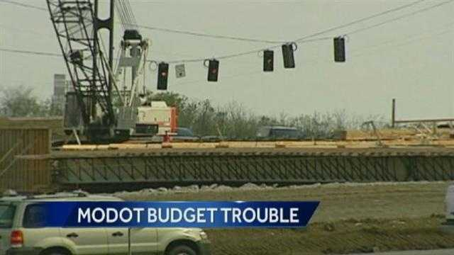 Image MoDOT money problems