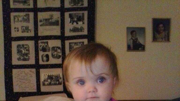 Images of missing 18-month-old Lana Leigh Bailey