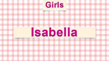 3) Isabella