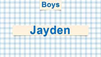 7) Jayden