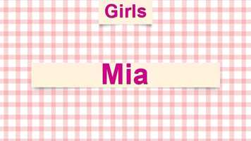 8) Mia
