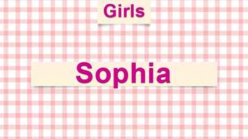 1) Sophia