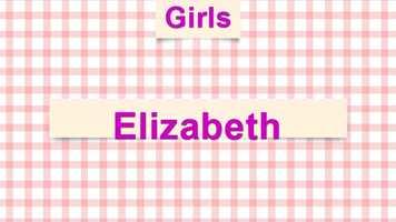 10) Elizabeth