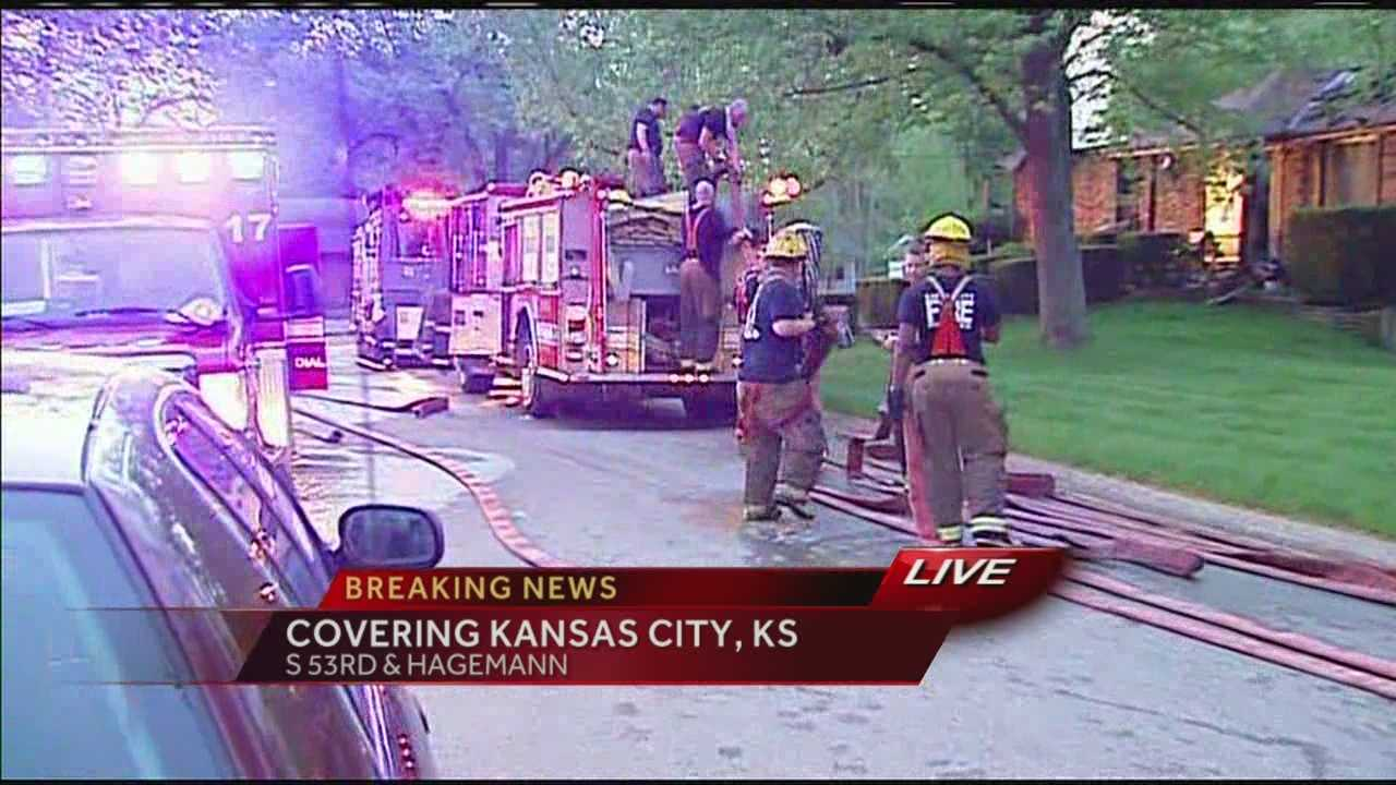 House catches fire twice in 24 hours