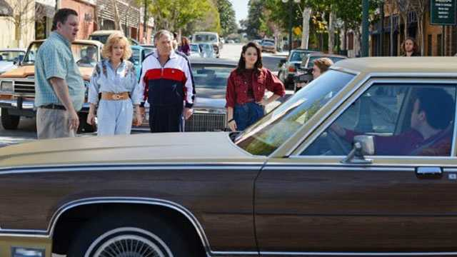 """""""The Goldbergs"""" airs Tuesday at 8 p.m. starting Sept. 24. Learn more on FacebookBefore there were parenting blogs, trophies for showing up and peanut allergies, there was a simpler time called the '80s. For geeky 11-year-old Adam (Sean Giambrone) these were his wonder years, and he faced them armed with a video camera to capture all the crazy. The Goldbergs are a loving family like any other, just with a lot more yelling. Mom Beverly (Wendi McClendon-Covey) is a classic """"smother,"""" an overbearing, overprotective matriarch who rules this brood with 100% authority and zero sense of boundaries. Dad Murray (Jeff Garlin) is gruff, hot-tempered and trying to parent without screaming. Sister Erica (Hayley Orrantia) is 17, hot, terrifying and not one to mess with. Barry (Troy Gentile) is 16, a grade-A spaz with classic middle child syndrome. Adam (Sam Giambrone) is the youngest, a camera-wielding future director who's crushing on an older woman. Rounding out the family is beloved grandfather Al """"Pops"""" Solomon (George Segal), the wild man of the clan, a shameless Don Juan who's schooling Adam in the ways of love. When Pops buys a new sports car and offers his Caddy to middle child Barry, it's enough to drive this already high-strung family to the brink of chaos."""