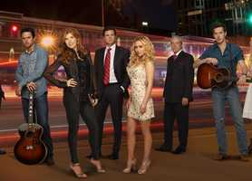 """Nashville"" returns for its second season Wednesday at 9 p.m. starting Sept. 25."